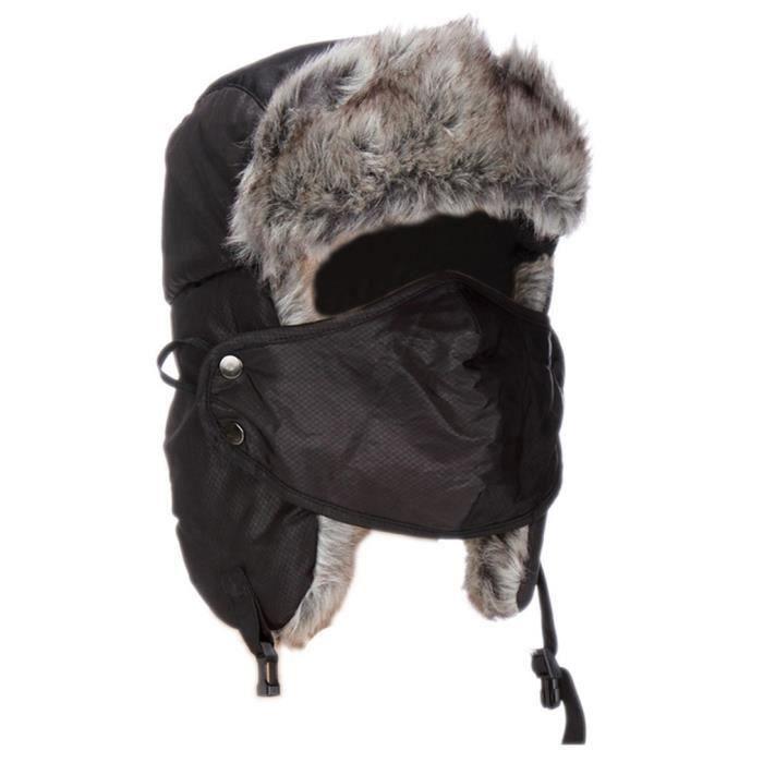 shina chapka bonnet de moto femme homme noir masque cache oreilles noir achat vente bonnet. Black Bedroom Furniture Sets. Home Design Ideas