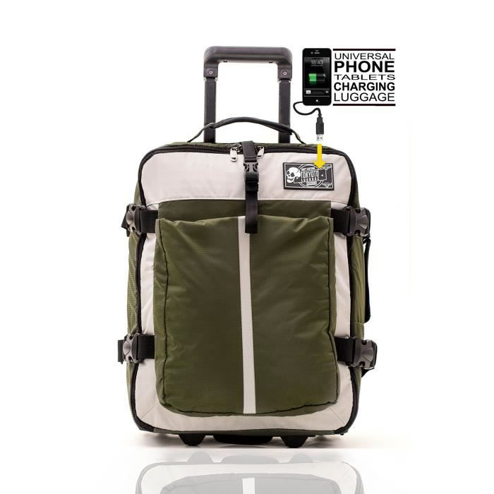 tokyoto valise cabine bagage trolley easyjet ryanair low cost tsa voyage tissu soft vert achat. Black Bedroom Furniture Sets. Home Design Ideas