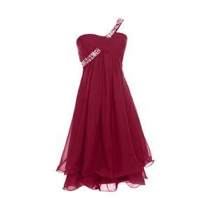 robe de soiree bordeaux achat vente robe de soiree bordeaux pas cher cdiscount. Black Bedroom Furniture Sets. Home Design Ideas