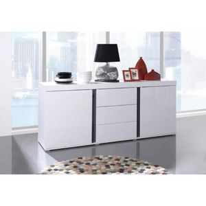 Buffets enfilades bahuts blancs achat vente buffets enfilades bahuts blan - Buffet bahut enfilade ...