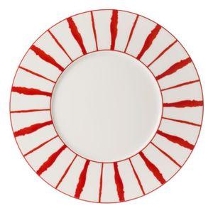 assiette plates rouge achat vente assiette plates rouge pas cher cdiscount. Black Bedroom Furniture Sets. Home Design Ideas