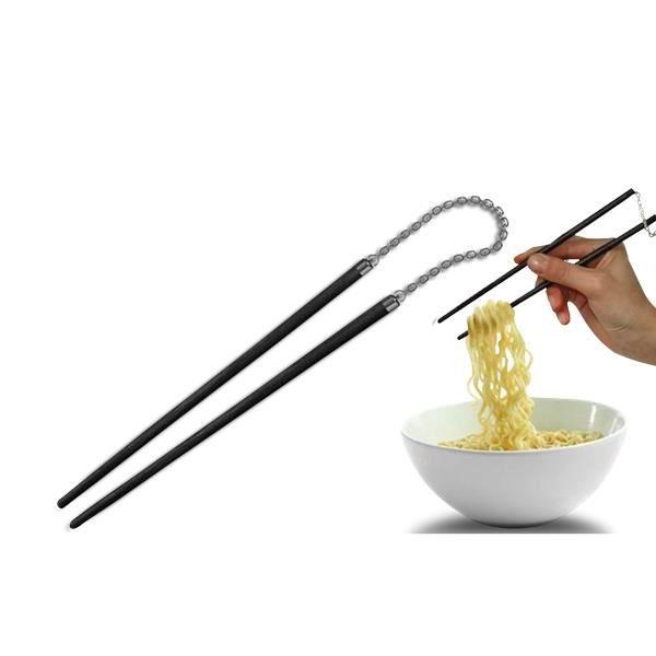 Baguettes en style nunchaku deco maison ustensile cuisine for Ustensile de cuisine asiatique