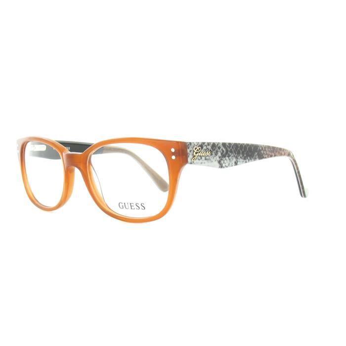 lunettes de vue guess gu2333 amb achat vente lunettes de vue femme adulte cdiscount. Black Bedroom Furniture Sets. Home Design Ideas