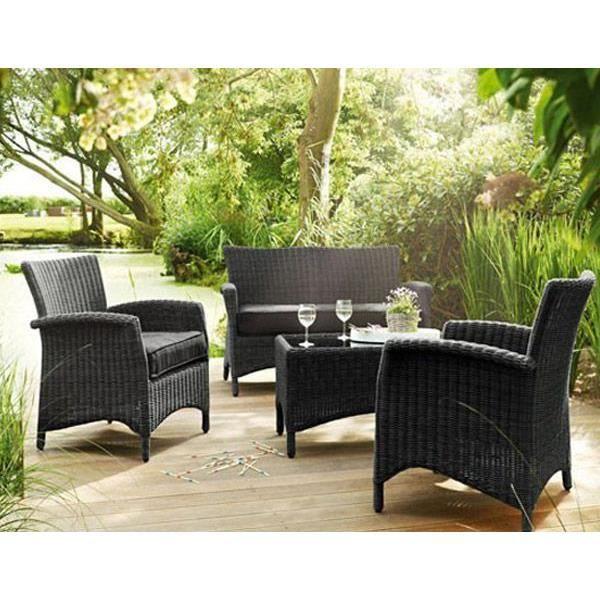 salon de jardin lakena achat vente salon de jardin. Black Bedroom Furniture Sets. Home Design Ideas