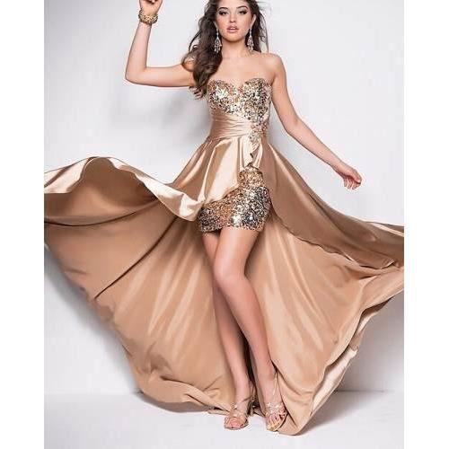 ROBE DE CÉRÉMONIE robe longue robe de soirée pas cher robe