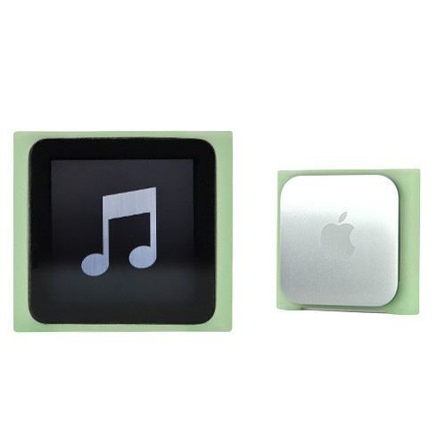 Coque ipod nano 6 silicone skin vert achat vente coque for Housse ipod nano 7