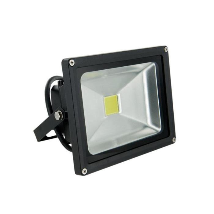 whitenergy projecteur led 20w lampe 6000k 2 achat vente projecteur ext rieur. Black Bedroom Furniture Sets. Home Design Ideas