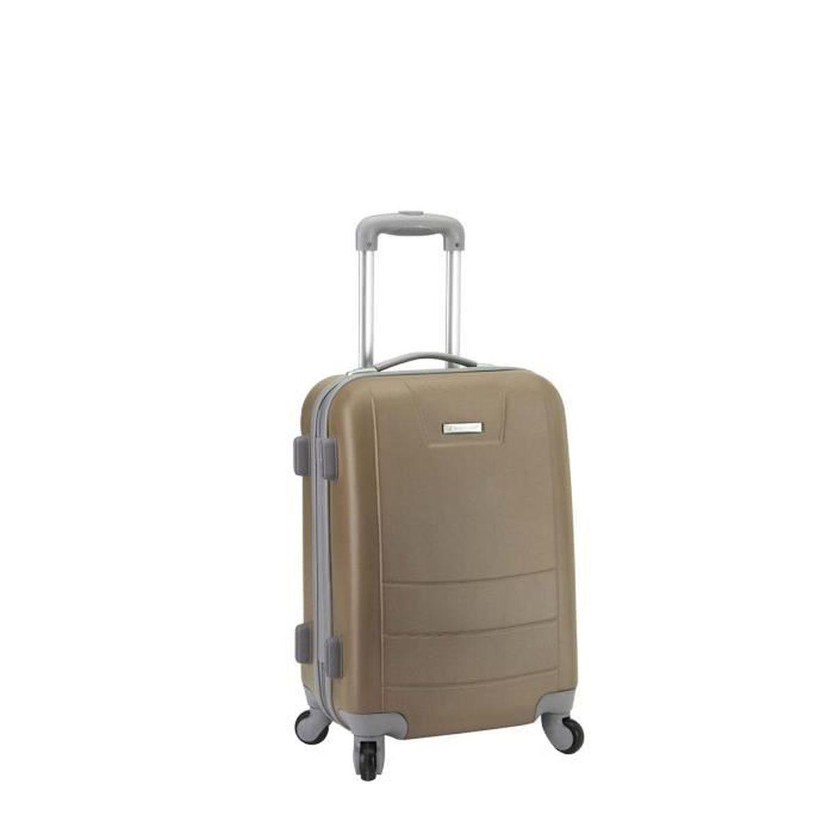 valise cabine rigide tokyo 54 cm coffee achat vente. Black Bedroom Furniture Sets. Home Design Ideas