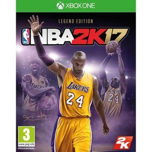 JEUX XBOX ONE NBA 2K17 Legend Edition Jeu Xbox One