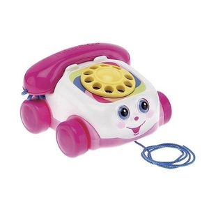TELEPHONE JOUET Fisher Price - Téléphone rose