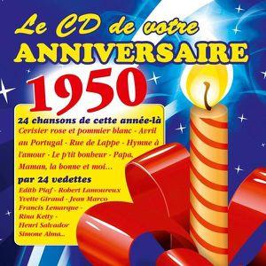 CD VARIÉTÉ FRANÇAISE Le CD de votre anniversaire : 1950 (CD)