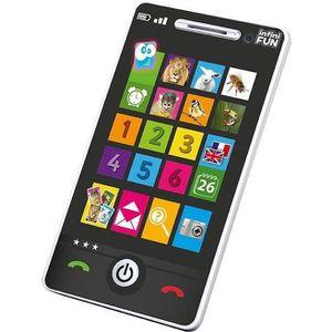 TELEPHONE JOUET Smartphone éducatif bilingue 7.5x2.5x14cm