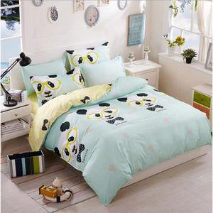 housse de couette panda lit achat vente housse de. Black Bedroom Furniture Sets. Home Design Ideas