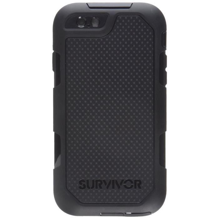 telephonie accessoires portable gsm iphone  s coque survivor f auc