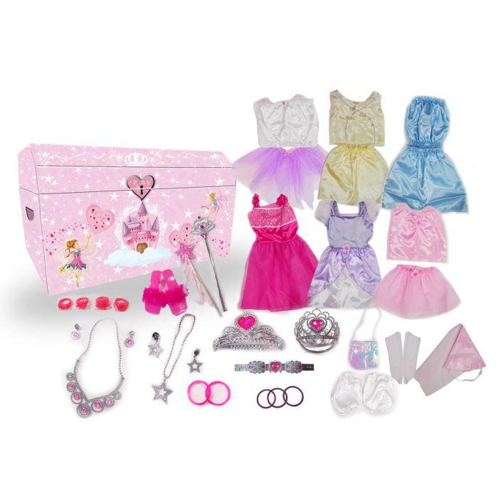 DÉGUISEMENT - PANOPLIE Pack de 3 déguisements de princesse