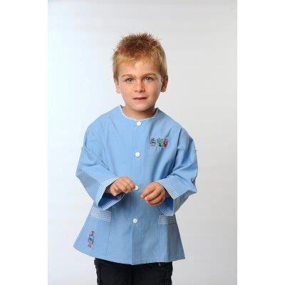 tablier d 39 cole boris bleu ciel bleu achat vente chemisier blouse tablier d 39 cole boris. Black Bedroom Furniture Sets. Home Design Ideas