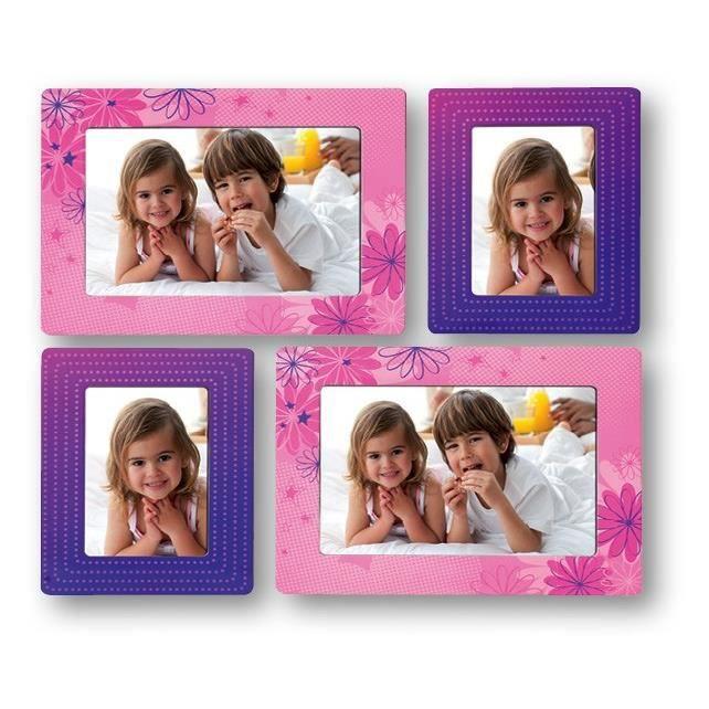 rosie stickers muraux enfant cadre 4 photos achat vente p le m le photo carton papier. Black Bedroom Furniture Sets. Home Design Ideas