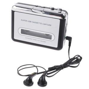 LECTEUR MP3 Bande de PC USB Cassette à MP3 Convertisseur Audio