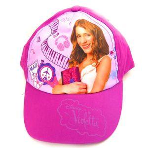 casquette enfant violetta viol achat vente casquette casquette enfant violetta. Black Bedroom Furniture Sets. Home Design Ideas