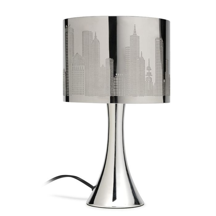 lampe touch chicago decoupe achat vente lampe chicago decoupe cdiscount. Black Bedroom Furniture Sets. Home Design Ideas