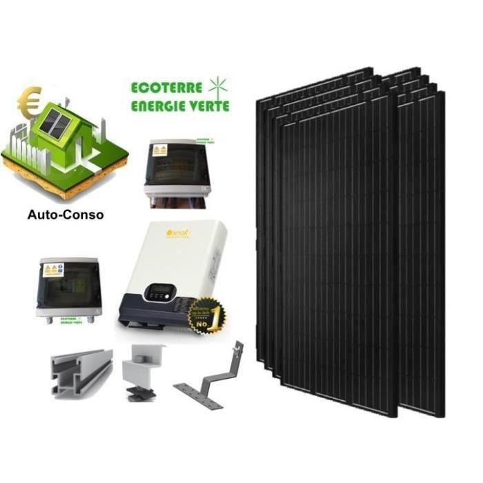 kit energie solaire pour maison kit solaire maison pro 5kw 48v systeme photovoltaique off grid. Black Bedroom Furniture Sets. Home Design Ideas