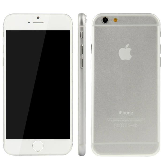 t l phone factice 4 7 inch iphone 6 blanc achat telephone jouet pas cher avis et meilleur. Black Bedroom Furniture Sets. Home Design Ideas