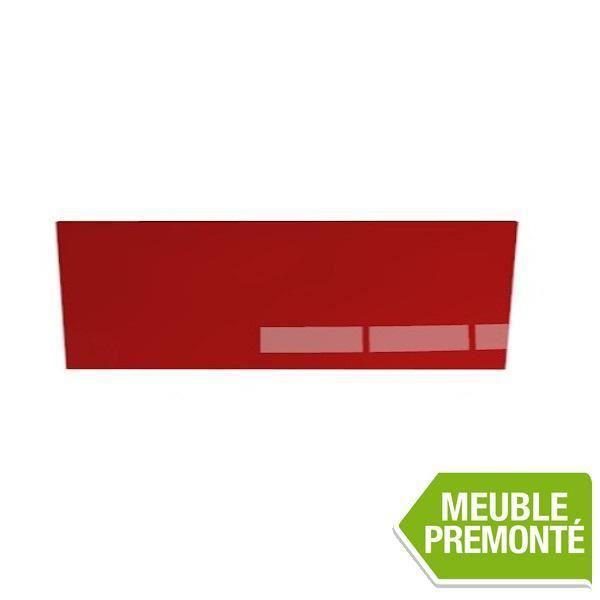 joue de finition 35x80 cristal rouge achat vente finition meuble cuisine joue de finition. Black Bedroom Furniture Sets. Home Design Ideas
