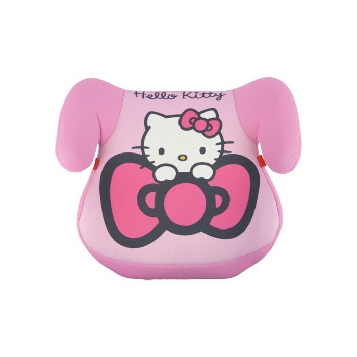 Rehausseur hello kitty siege auto enfant 15 36 kg voiture for Siege auto enfant 15kg