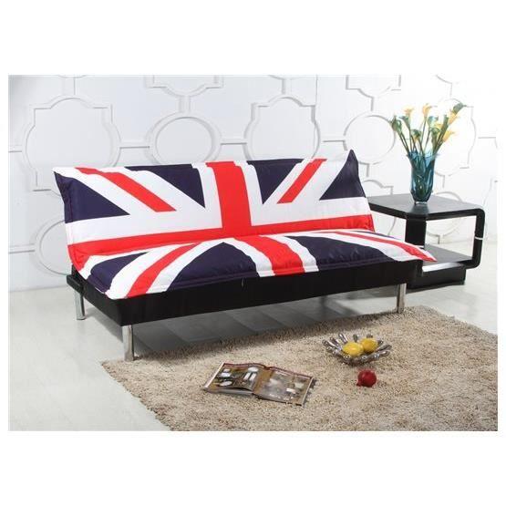 Canapé lit en anglais intérieur déco