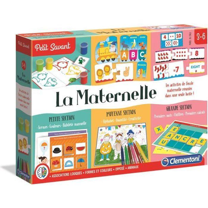 clementoni la maternelle kit de 10 jeux achat vente jeu d 39 veil ducatif la maternelle. Black Bedroom Furniture Sets. Home Design Ideas