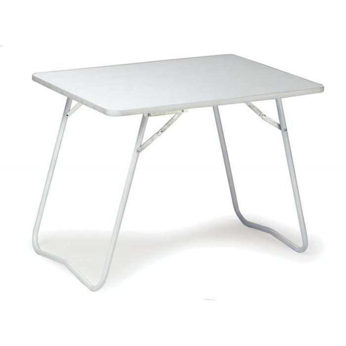 table de pique nique et camping blanche prix pas cher. Black Bedroom Furniture Sets. Home Design Ideas