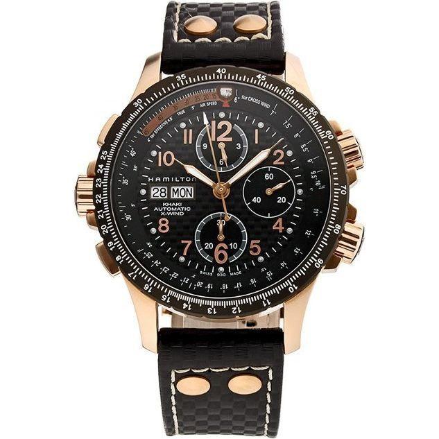 montre chronographe hamilton khaki x wind h7769 achat vente montre cdiscount. Black Bedroom Furniture Sets. Home Design Ideas