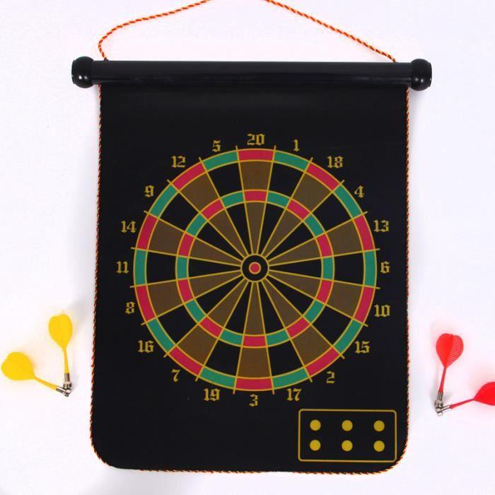 fl chettes jeu de fl chettes cible fabric jeux int rieur sports pour enfants gar on pliable. Black Bedroom Furniture Sets. Home Design Ideas
