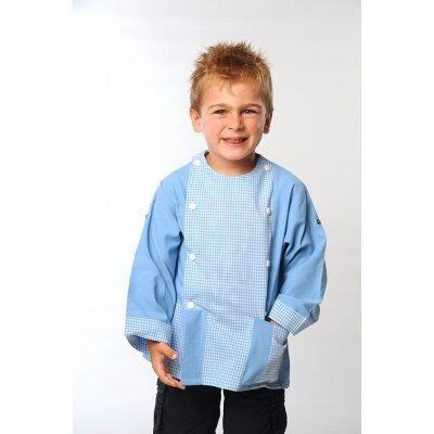 tablier d 39 cole gregor bleu ciel bleu achat vente chemisier blouse tablier d 39 cole. Black Bedroom Furniture Sets. Home Design Ideas