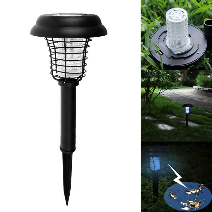 imperm able l 39 eau solaire puissance uv led moustique lampe jardin parties voies en plein air. Black Bedroom Furniture Sets. Home Design Ideas