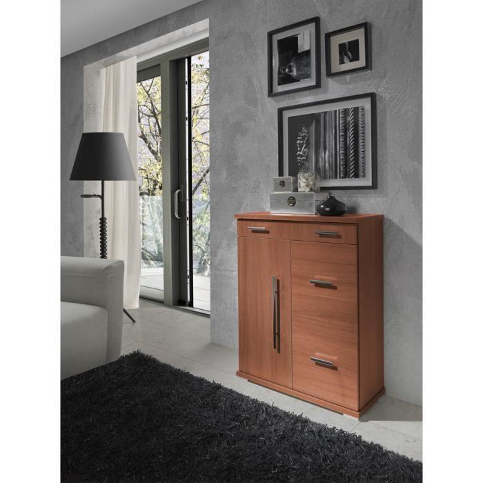 meuble chaussures avec 2 porte tiroir color achat vente meuble chaussures meuble. Black Bedroom Furniture Sets. Home Design Ideas
