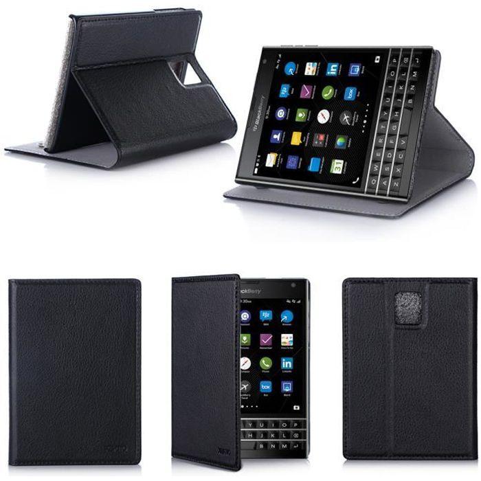 etui coque blackberry passport noir housse achat housse tui pas cher avis et meilleur. Black Bedroom Furniture Sets. Home Design Ideas
