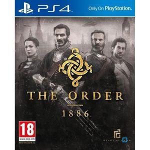 Pack PS4 500 Go + Jeu The Order : 1886 Jeu PS4
