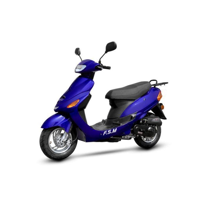 scooter 50cc 4t bleu racer 1 achat vente scooter scooter 50cc 4t bleu racer 1 soldes d. Black Bedroom Furniture Sets. Home Design Ideas
