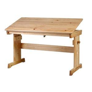 Bureau enfant en bois massif achat vente bureau enfant - Bureau enfant pin massif ...