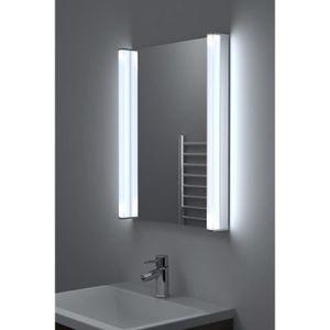 miroir salle de bain avec horloge achat vente miroir. Black Bedroom Furniture Sets. Home Design Ideas