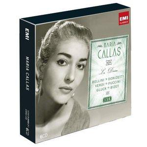 CD MUSIQUE CLASSIQUE Icon Maria Callas Coffret 6 CD
