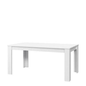 TABLE A MANGER SEULE FINLANDEK Table à manger KOVA 6 personnes 160x90 c