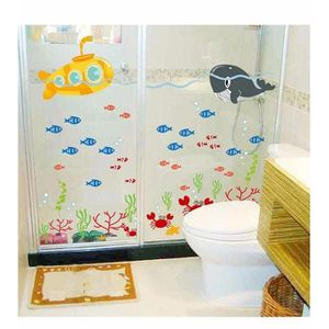 Stickers animaux marins achat vente stickers animaux for Fenetre pvc 60x90