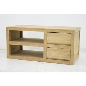 meuble tv olga 90cm h v a huil naturel achat. Black Bedroom Furniture Sets. Home Design Ideas