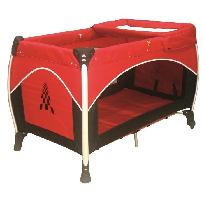 ferrari lit parapluie rouge achat vente lit b b 3507460011203 cdiscount. Black Bedroom Furniture Sets. Home Design Ideas