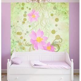Deco soon papier peint lotus 260 x 240 cm achat for Decoration interieure papier peint