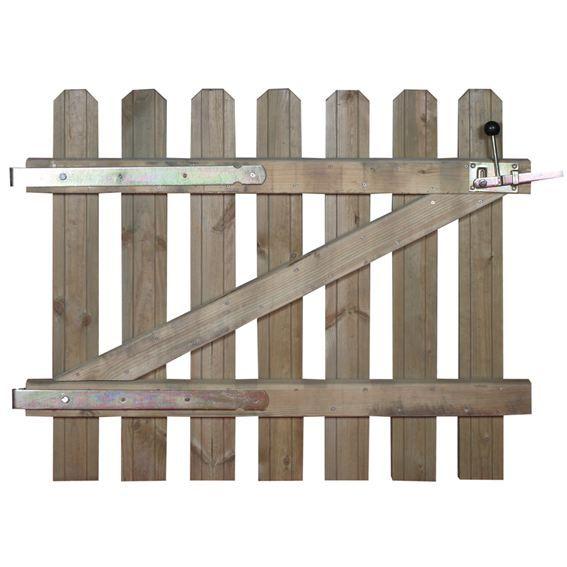 Portillon capucine ht 80 cm achat vente portail for Portillon largeur 80 cm