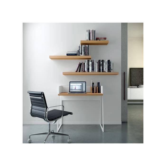 bureau d 39 appoint volga blanc achat vente bureau bureau d 39 appoint volga blanc cdiscount. Black Bedroom Furniture Sets. Home Design Ideas