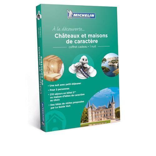 COFFRET CADEAU SPORT Coffret Cadeau Châteaux et maisons de caractères